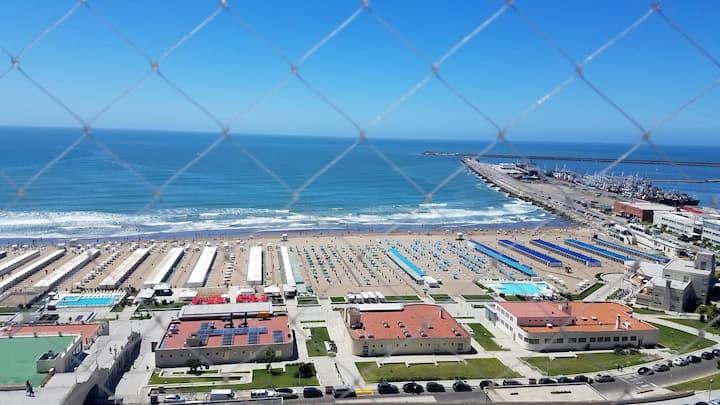 Dpto en Mar del Plata, frente al mar, Playa Grande
