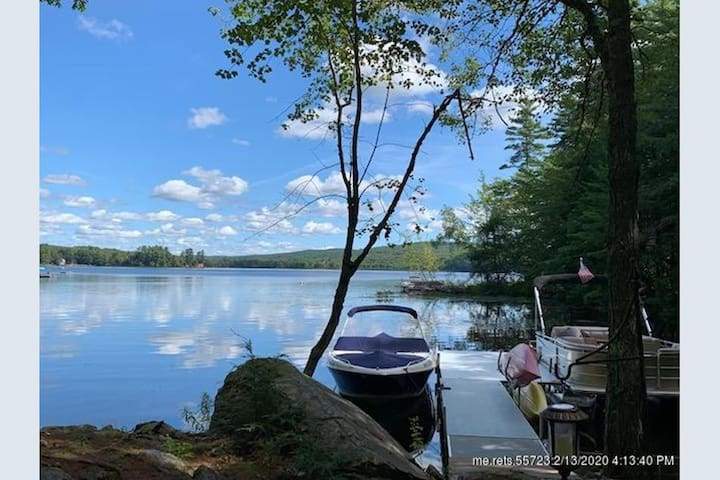 Lake Camp on Sheepscot Lake in Palermo, Maine