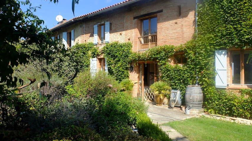 Rebessenc de Guerro, chambres et table d'hotes - Castagnac - Casa