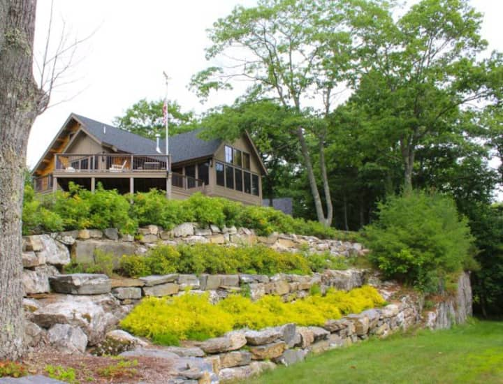 Spectacular Expansive Views on Boothbay Peninsula