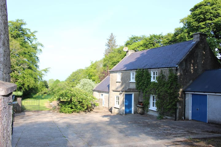 Secluded restored farmhouse Wicklow/Carlow border - Clonmore - Huis