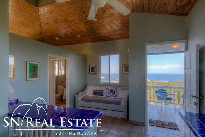 Off the pool is a 1BR/1BA cottage with kitchenette... and again great views