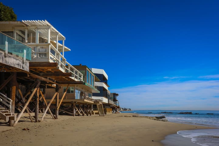 Beachfront Malibu House