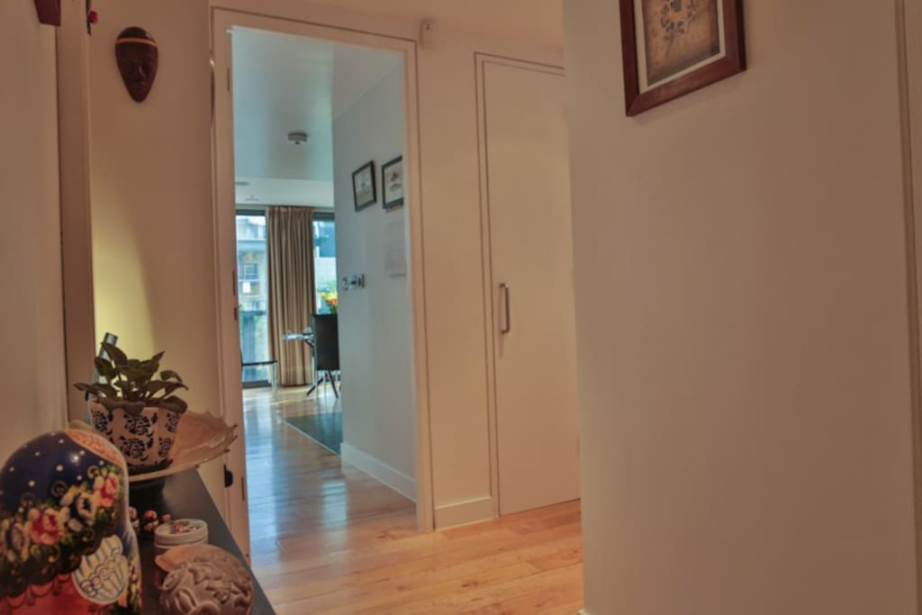 Entrance Hall to Apartment and Front Room