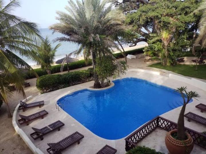 Chambre Double Confort #6 – Terrasse et vue océan