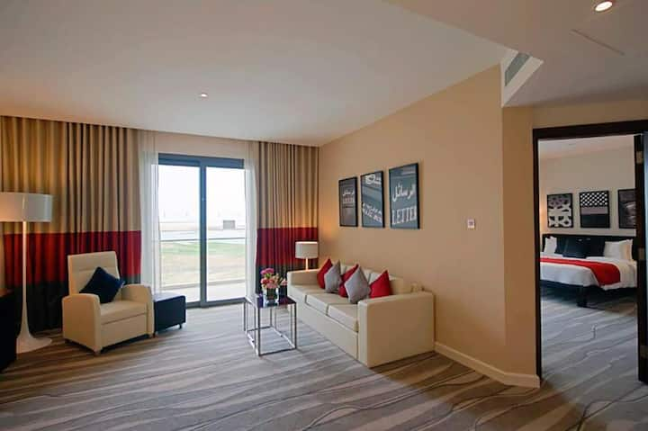 Lovely Suite Two Bedrooms At Abu Dhabi