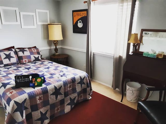 ★Texas-Inspired Room★ North Fort Worth/ Alliance