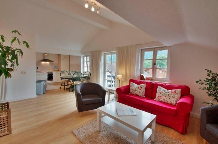 Zentrumslage, 2 Schlafzimmer, ideal für Familien