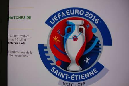 euro 2016 st etienne geoffroy guichard 3 chbres - La Fouillouse - Casa