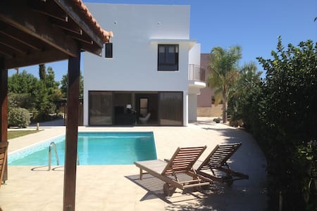 Modern villa with private pool - Mazotos - Vila