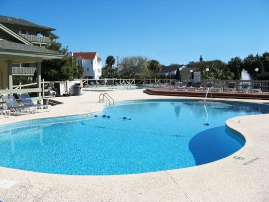 Three Swimming Pools, one for Kiddies, BBQ Grill and Pavilion