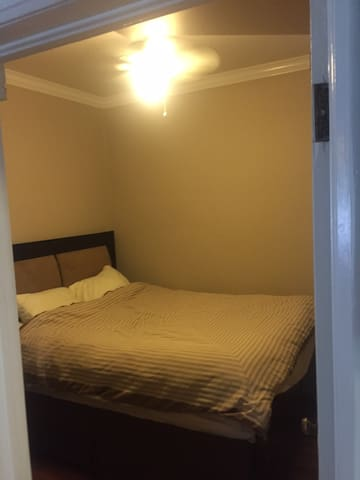 Main room has a brand new queen size bed