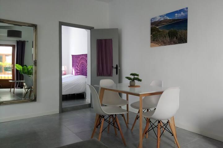 Appartement familial 40m2 Tarifa centre/clim/Wifi