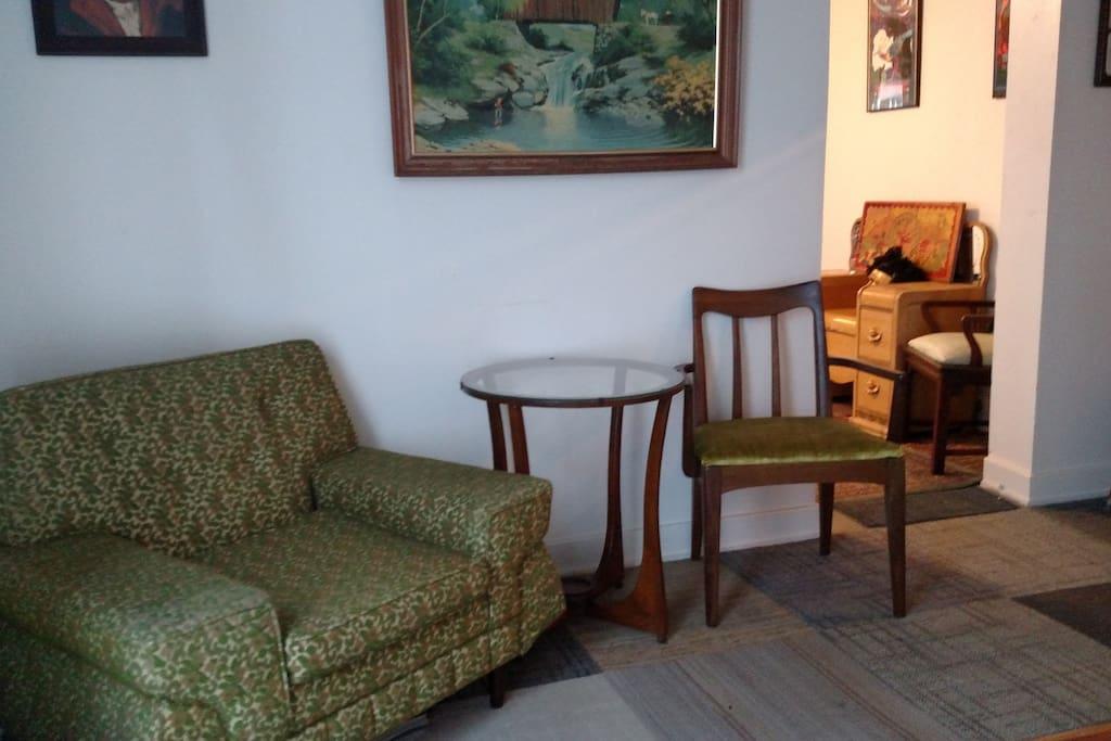 Left side of living room