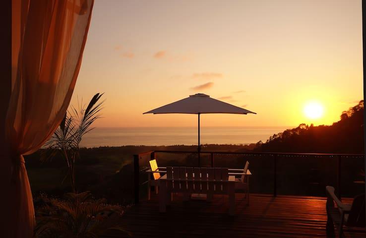 Sunset at La Colina Pura Vista