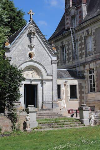 Chapelle du Château du Bois Rignoux - Vigneux-de-Bretagne - ปราสาท