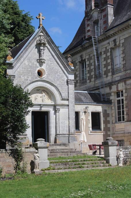 Chapelle du Ch u00e2teau du Bois Rignoux Ch u00e2teauxà louerà Vigneux de Bretagne, Pays de la Loire  # Chateau De La Chapelle Des Bois