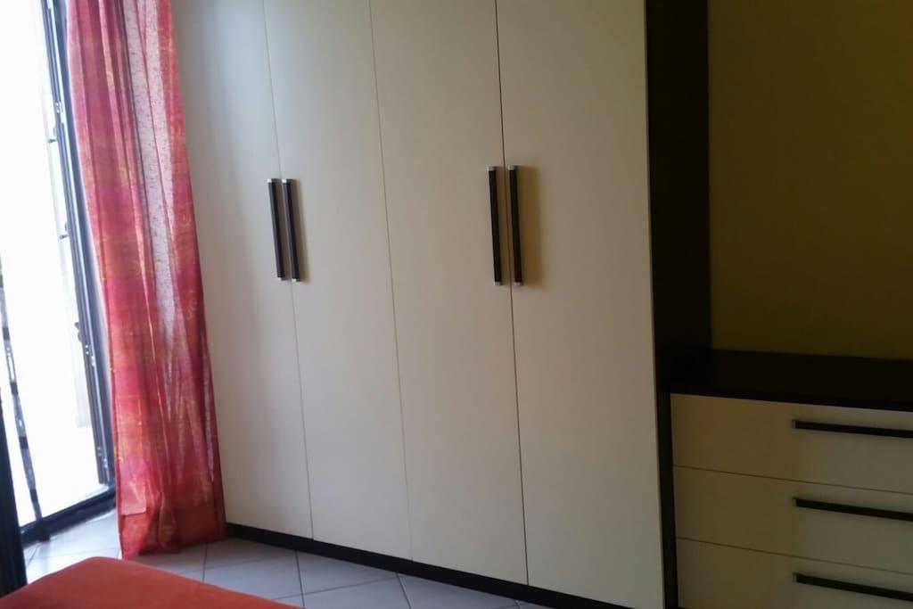 armadio e cassettiera
