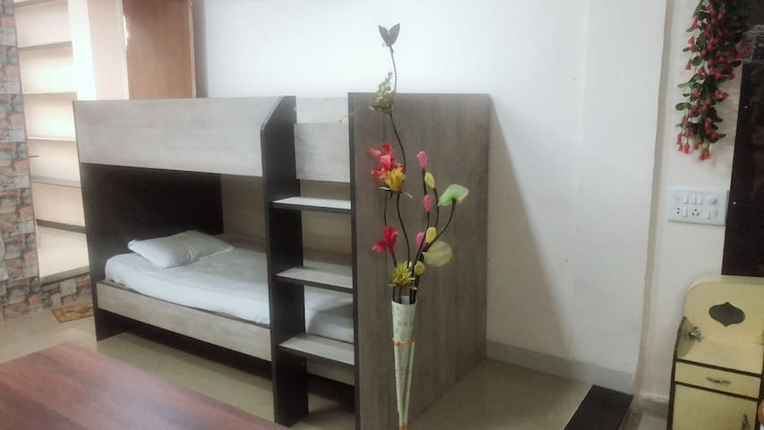 Bunk Bed in 1st Bedroom