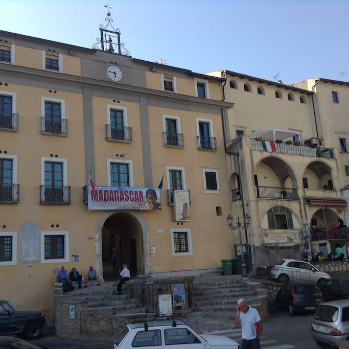 Entrata al borgo medievale