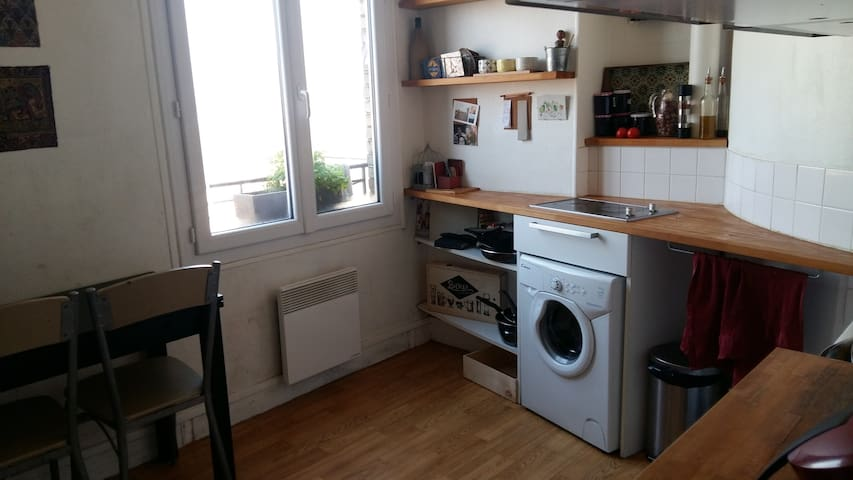 Appartement à 15mn de Paris