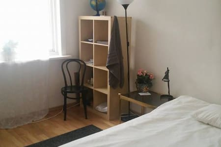 Room for 2 with acces to kitchen and living room - Oslo - Apartamento