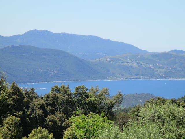Maison de village -  vue sur la mer - Coggia - Apartamento