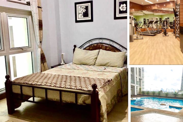 Cozy nest with Pool and Gym! - Quezon City - Flat