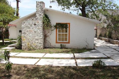 Casa con jardín en ixmiquilpan