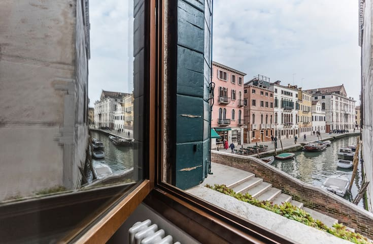 AMAZING CANAL VIEW: free wi-fi & Venice centre