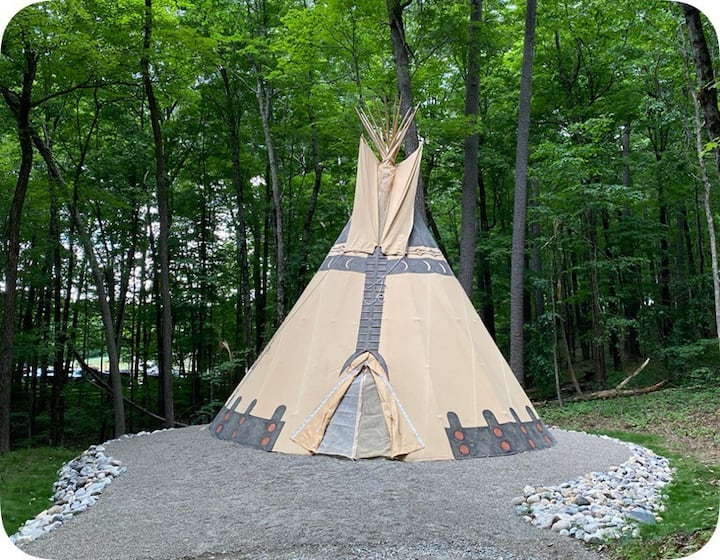 The Tipi at June Farms