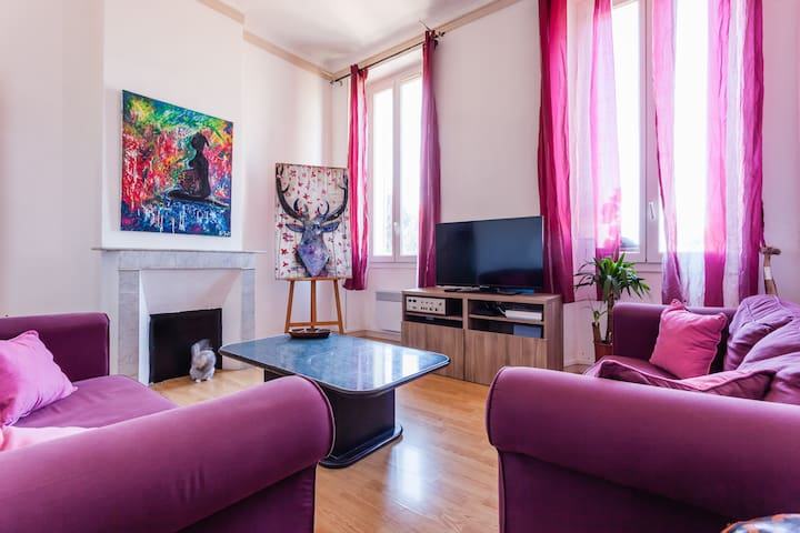 Sweet bedroom near all amenities, Belle de Mai - Marseille - Apartment
