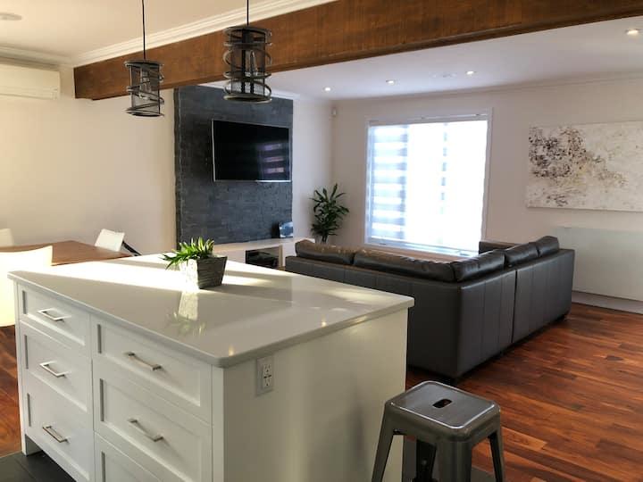 Grande maison de luxe idéale pour famille