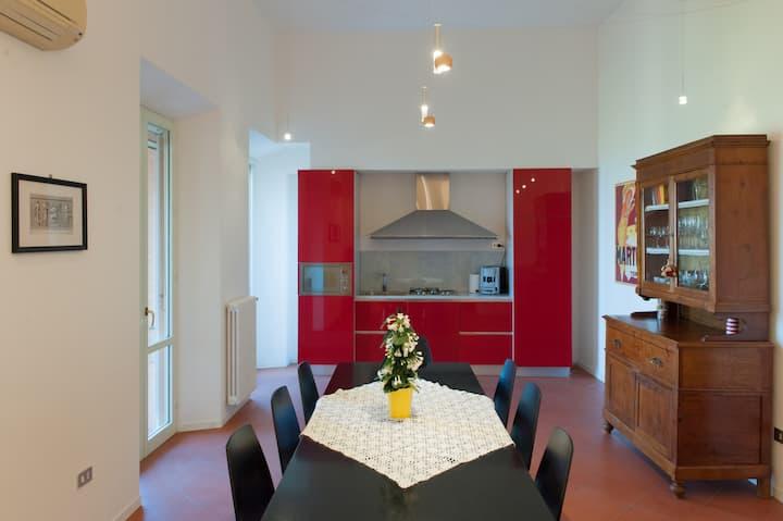 Suggestivo appartamento nel borgo di Bertinoro