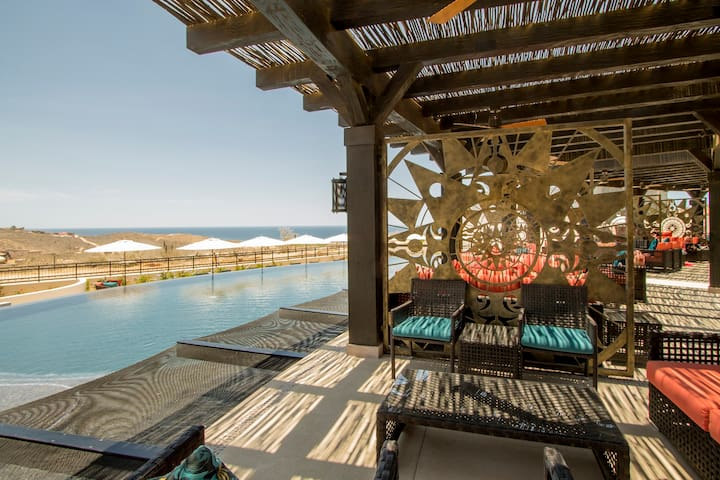 Stay at our beautiful 3 bedroom 3 bathroom condo at Quivira Copala and enjoy the beautiful pools and access to the Quivira Golf Course