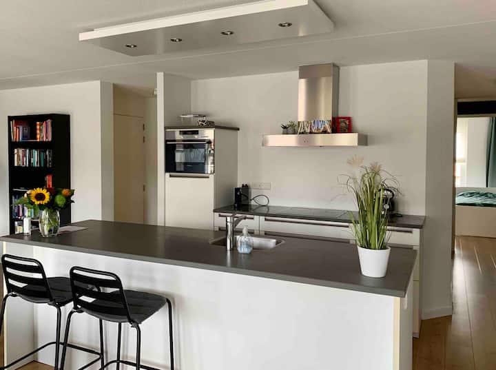 Beautiful apartment near beach, dunes & Amsterdam