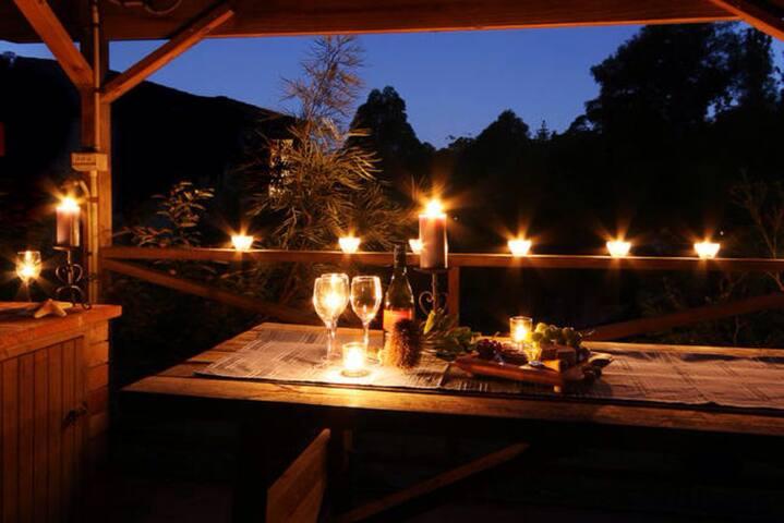 BBQ & Covered entertainment area