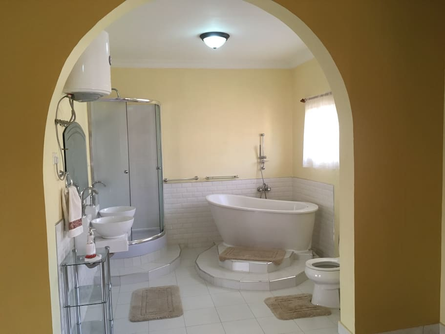 Ensuite bathroom.
