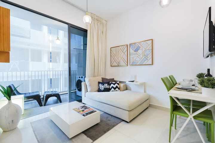 Luxe 1 BR Apt near MRT and City Centre