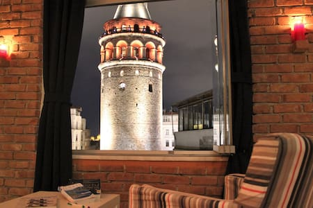 ROA - Amazing Galata Tower View - Apartemen