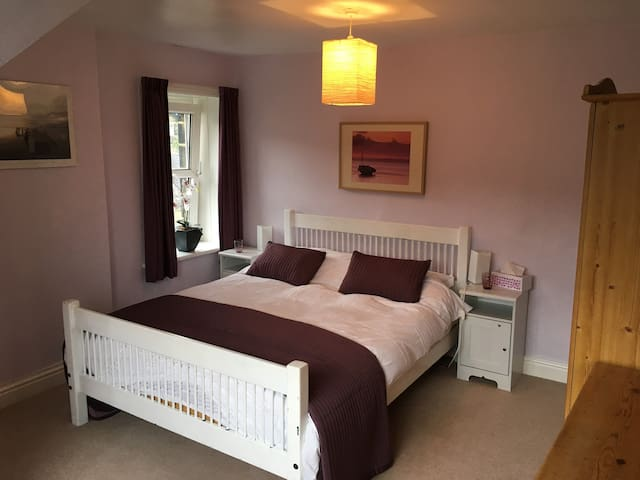 The Ilkley Moor Flat - a great place to stay.