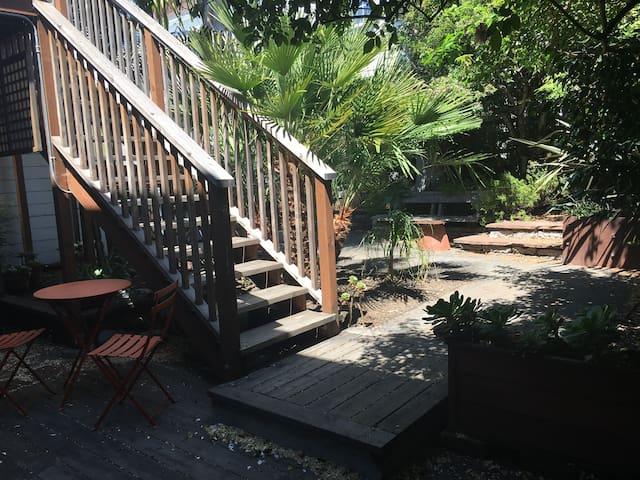 Lovely Quiet Garden Apartment In Bernal Heights.
