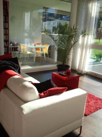 Quite and trendy room close from Lucerne City - Kriens - Apartamento