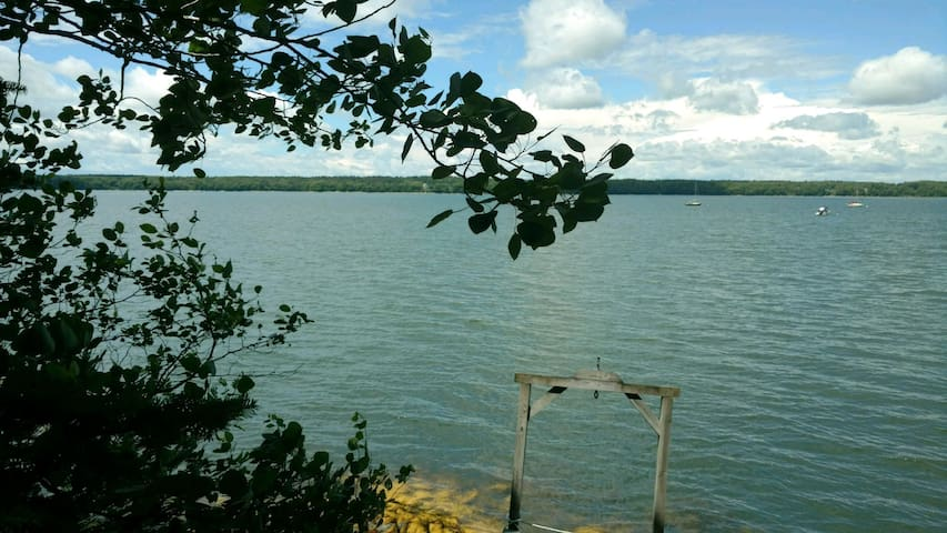 View of Maquoit Bay- water access