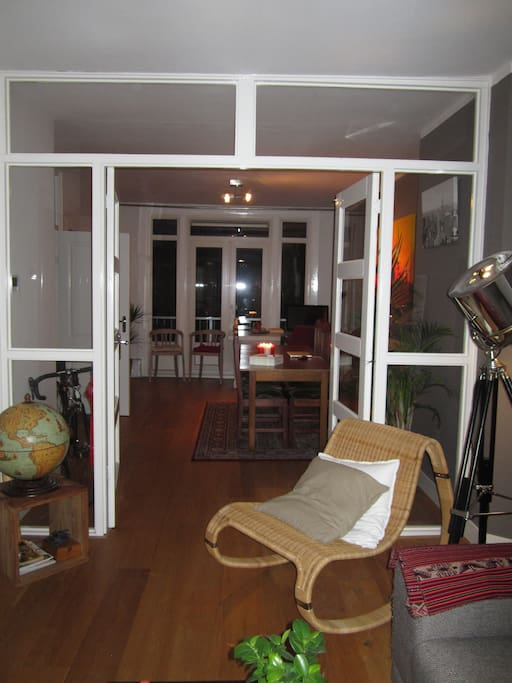 View from living to dining room