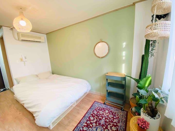 (New Open!!)당산역 도보2분 Cozy Green House #선유도#영등포#홍대