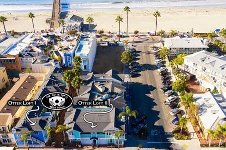 Otter Lofts I: 1 Bedroom Beach Condo End Unit