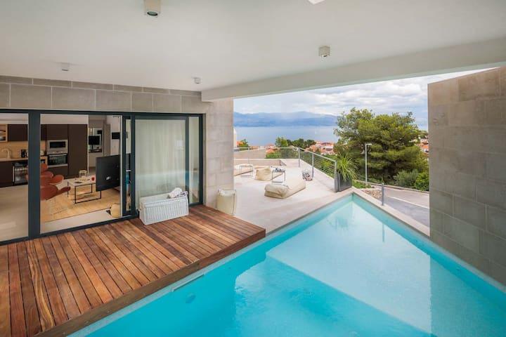5 star Villa SeaEsta with a sea view