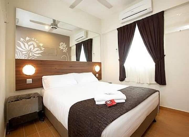 Tune Hotel Danga Bay, Johor  - Quad Room