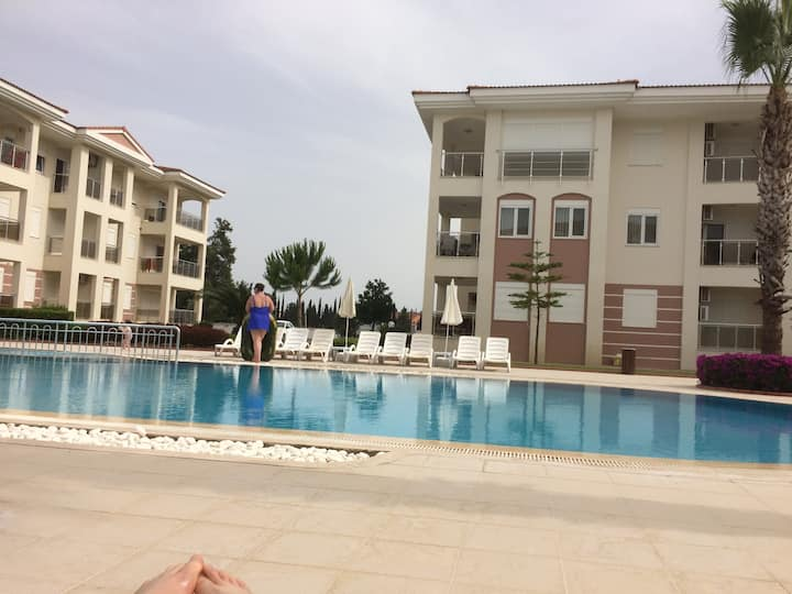 4 seasons .Apartments . Antalia. Turkey. Бассейн